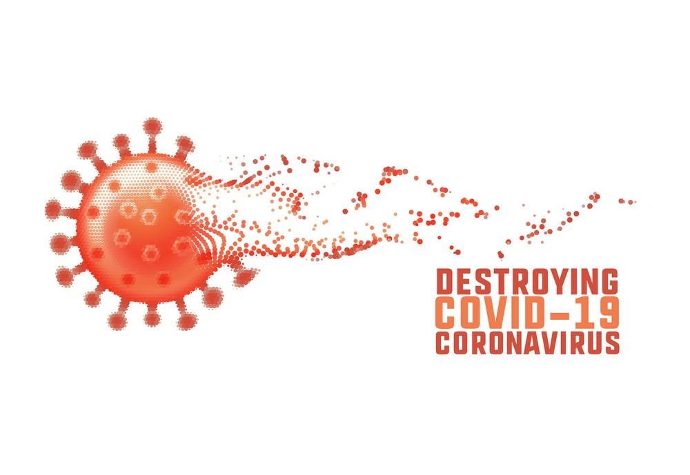 نابودی ویروس کرونا